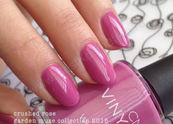 CND Vinylux Garden Muse Роза Crushed Rose
