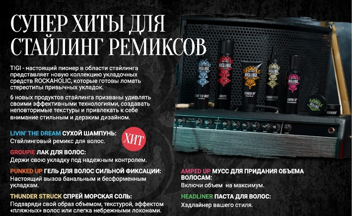 Tigi Bed Head Rockaholic для Волос