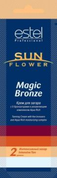 Estel Крем для загара Sun Flower Magic Bronze. Степень 2