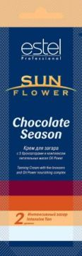 Estel Крем для загара Sun Flower Chocolate Season. Степень 2