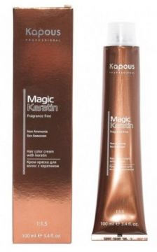 Kapous Magic Keratin Fragrance Free Краска Non Amonnia