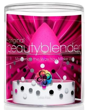 Beautyblender Спонж original и мыло для очистки Solid Blendercleanser