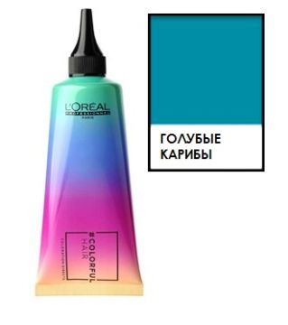 Loreal ColorfulHair Голубые Карибы Caribbean Blue