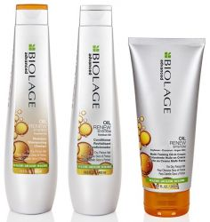 Восстановление с маслом сои Matrix Oil Renew Biolage